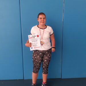 Uczennica ZS1 mistrzynią Polski w parabadmintonie