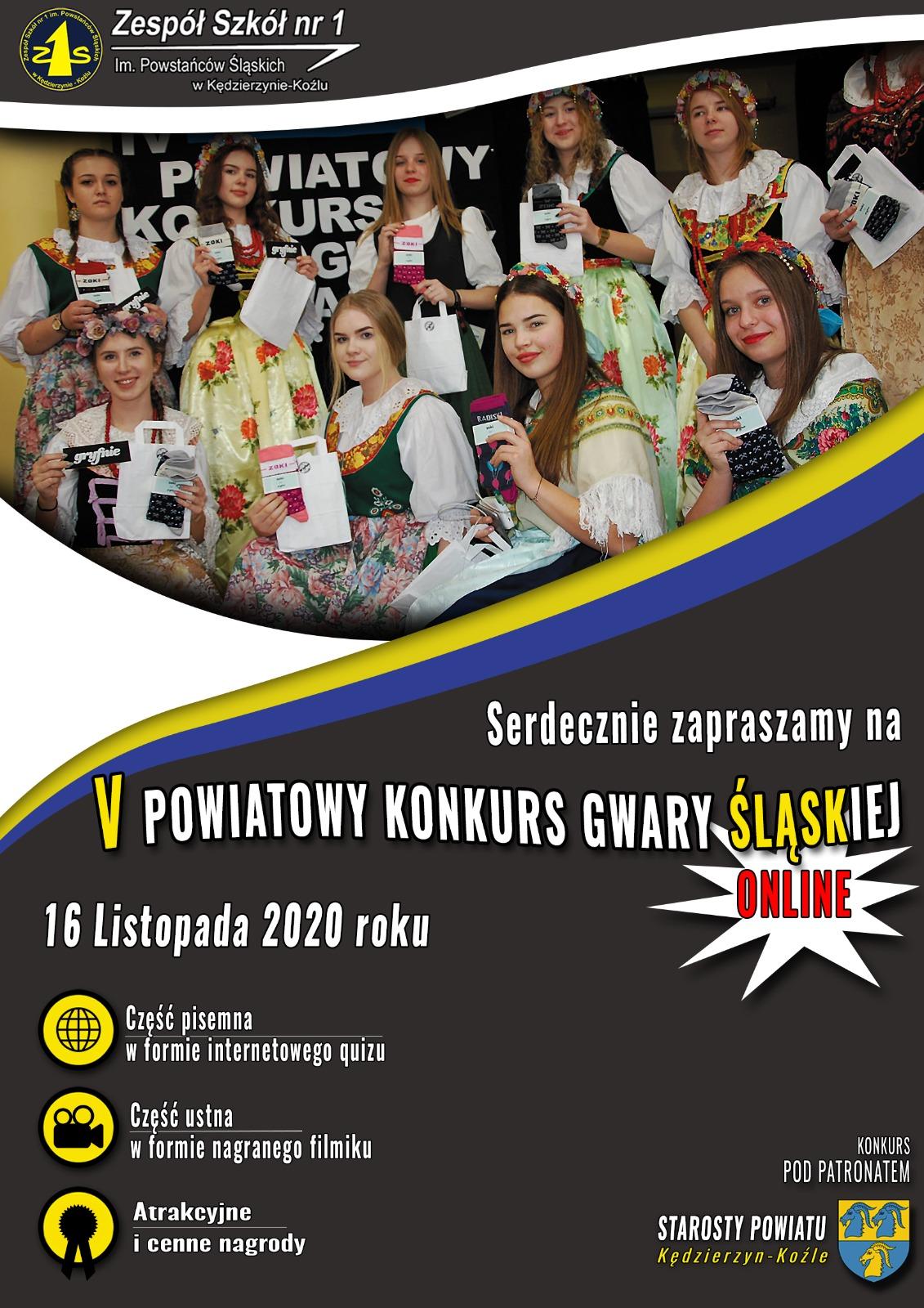 V Powiatowy Konkurs Gwary Śląskiej