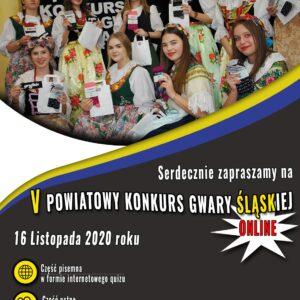 V Powiatowy Konkurs Gwary Śląskiej – przypomnienie