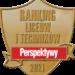 """Zespół Szkół nr 1 ponownie otrzymał """"ZŁOTĄ TARCZĘ"""" w rankingu PERSPEKTYWY 2021"""