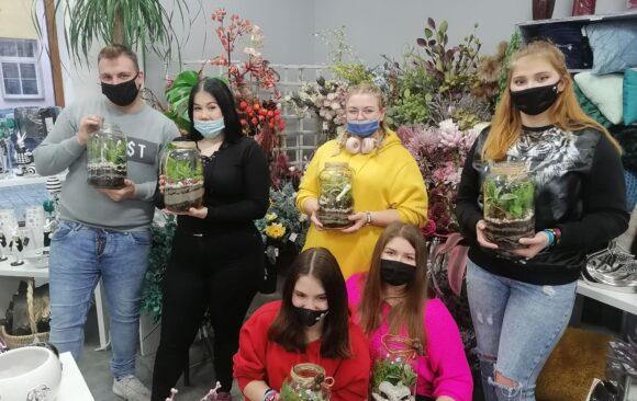 Warsztaty florystyczne w kwiaciarni Różany Ogród