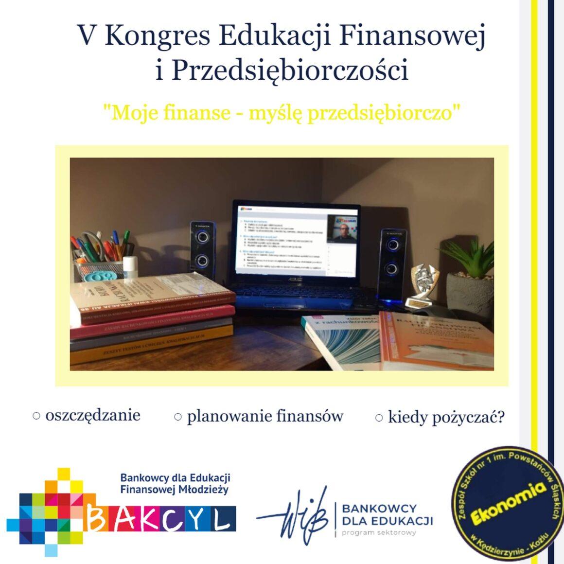 Ekonomiści na V Kongresie Edukacji Finansowej i Przedsiębiorczości