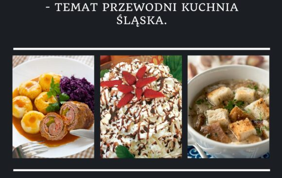 """""""Szkolny konkurs na najlepszego kucharza ZS nr 1""""- temat przewodni kuchnia śląska"""