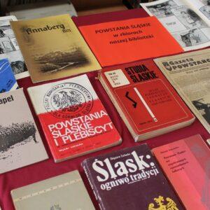 100-lecie POWSTAŃ ŚLĄSKICH w bibliotece