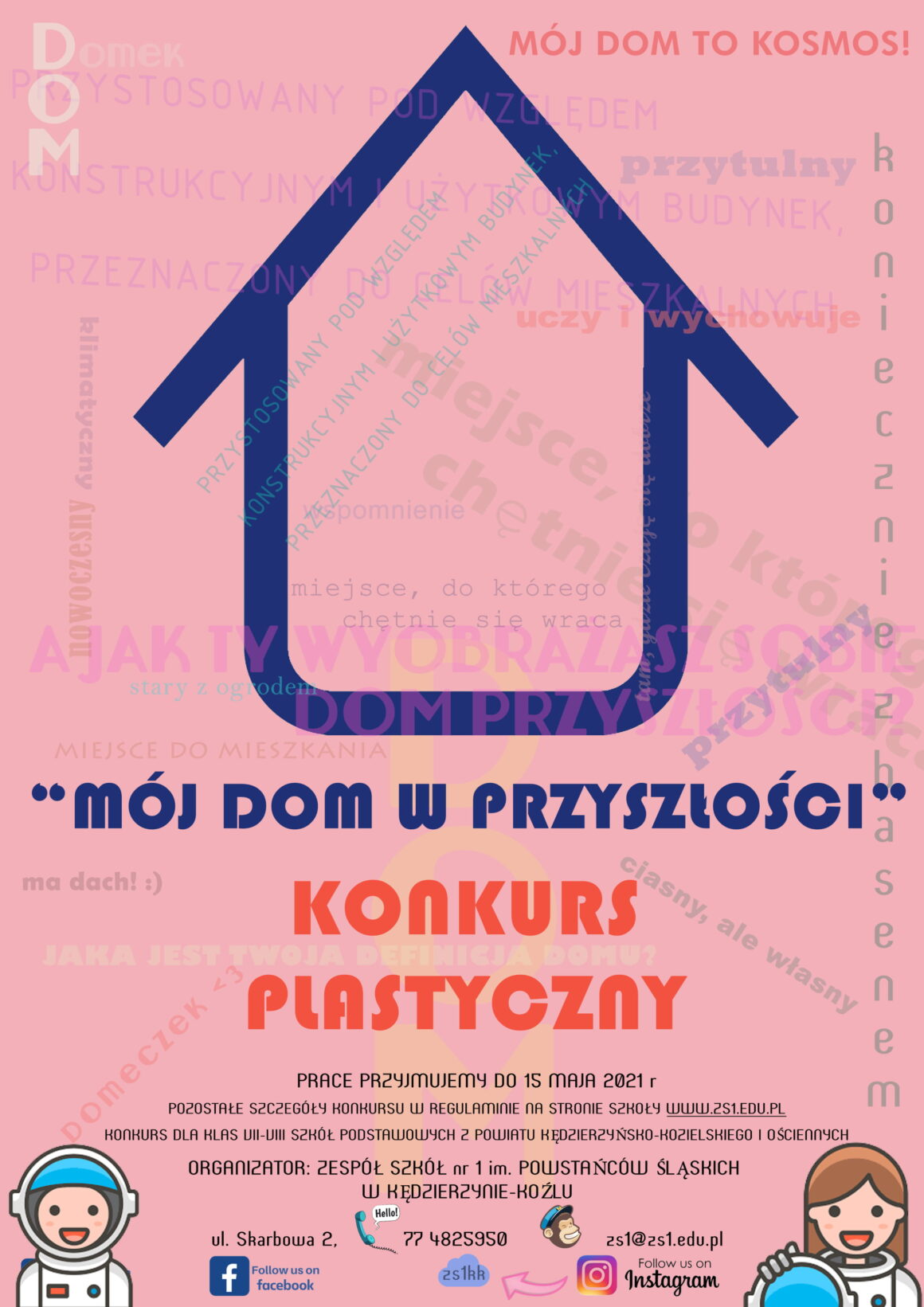 """Konkurs plastyczny """"Mój dom w przyszłości"""""""