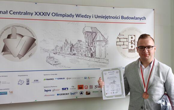 Uroczyste podsumowanie XXXIV edycji Olimpiady Wiedzy i Umiejętności Budowlanych