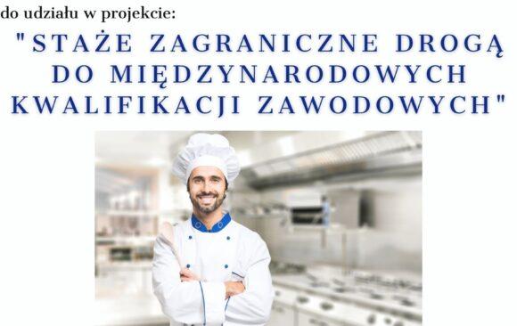 Zaproszenie do udziału w Erasmusie