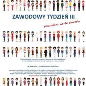 """""""Zawodowy tydzień w ZS1"""""""